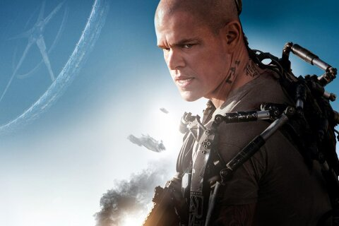 Elysium Matt Damon movie backdrop