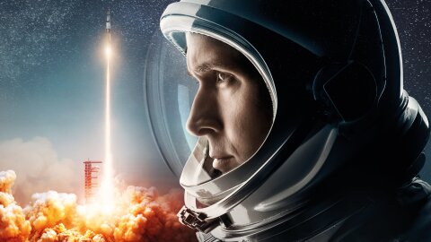 First Man movie backdrop