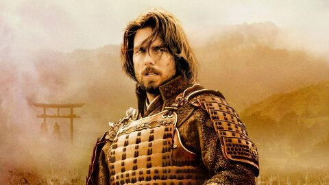 Tom Cruise in Samurai armor