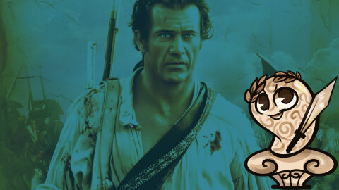 Mel Gibson being patriotic with History-Brain