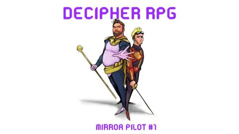 Mirror RPG character illustrations for episode 1 of 3