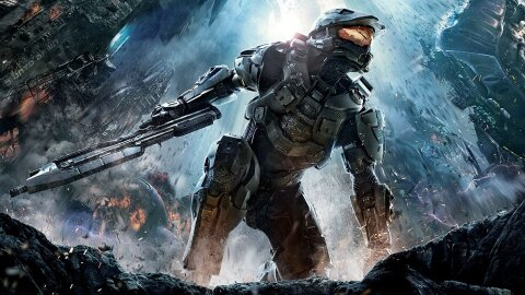 Master Chief looking pretty epic