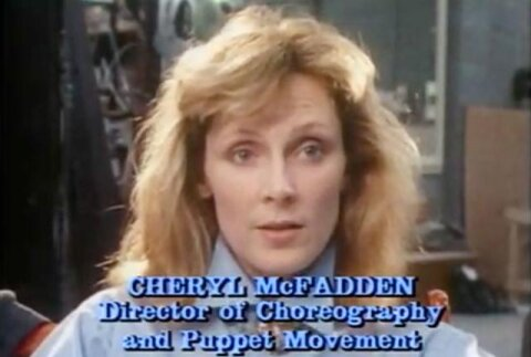 Dr Crusher as choreographer for Labyrinth