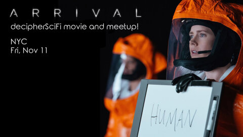 Arrival movie meetup announcement image
