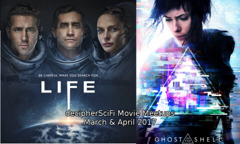 Decipher SciFi Life and GitS movie meetup announcement image