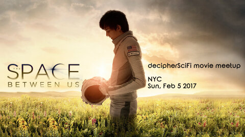 The Space Between Us NYC movie meetup announcement image