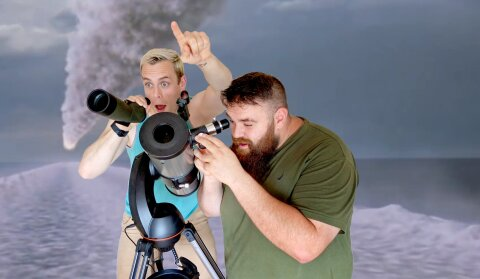 Decipher Media hosts looking in the wrong direction with a telescope